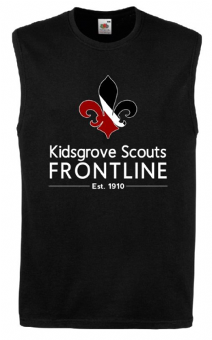 Kidsgrove Mens Section Vest - SS121